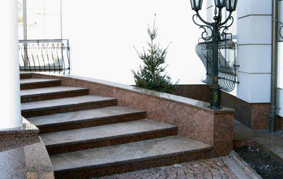 granīta kāpnes