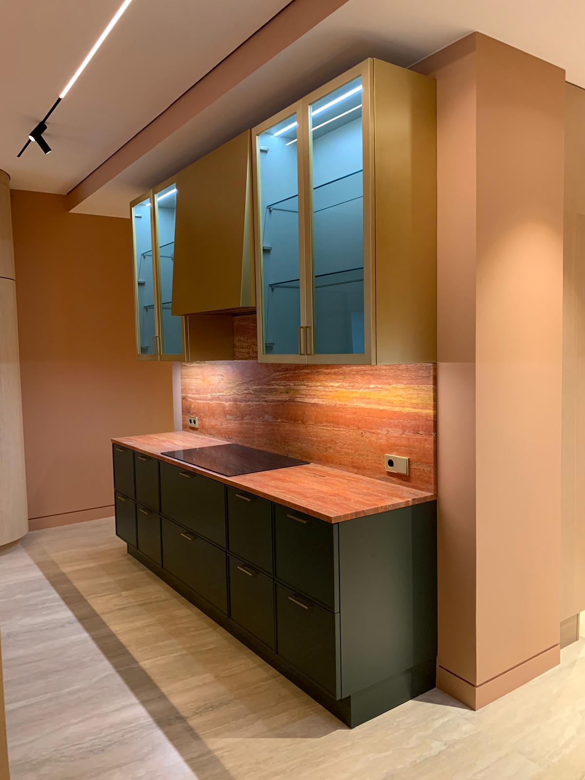 kā izskatās granīta virtuve